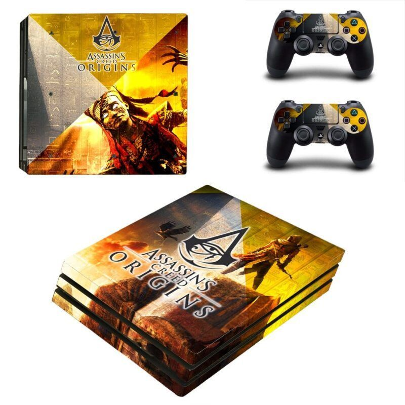 Assassins Creed Origins The Curse Of The Pharaoh PS4 Pro Skin
