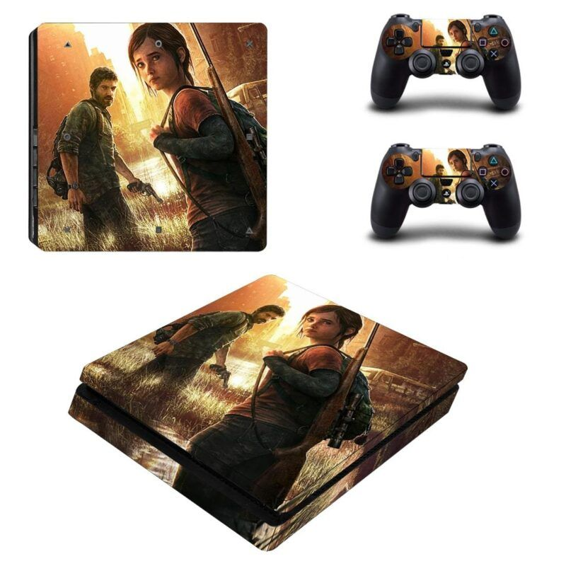 The Last of Us Adventure Survival Horror Game PS4 Slim Skin