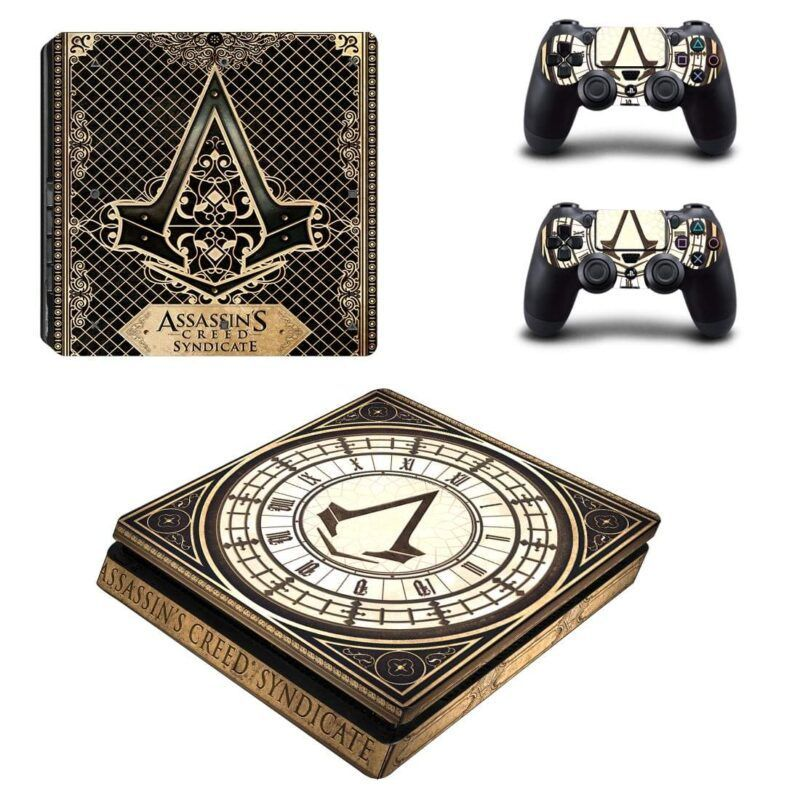 Assassin's Creed Syndicate Action Game Dope PS4 Slim Skin