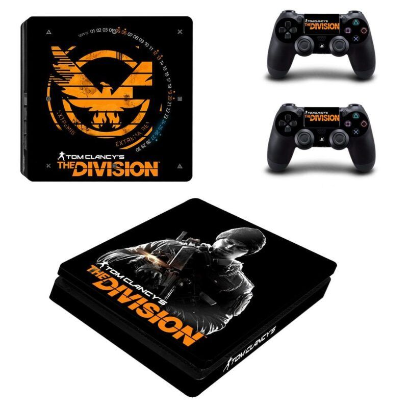 Tom Clancy's The Division Awesome Cool Design PS4 Slim Skin