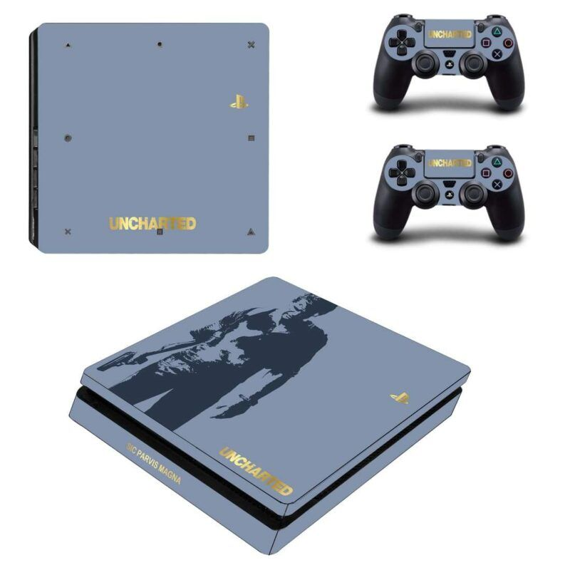 Uncharted Video Game Nathan Drake Classic Dope PS4 Slim Skin
