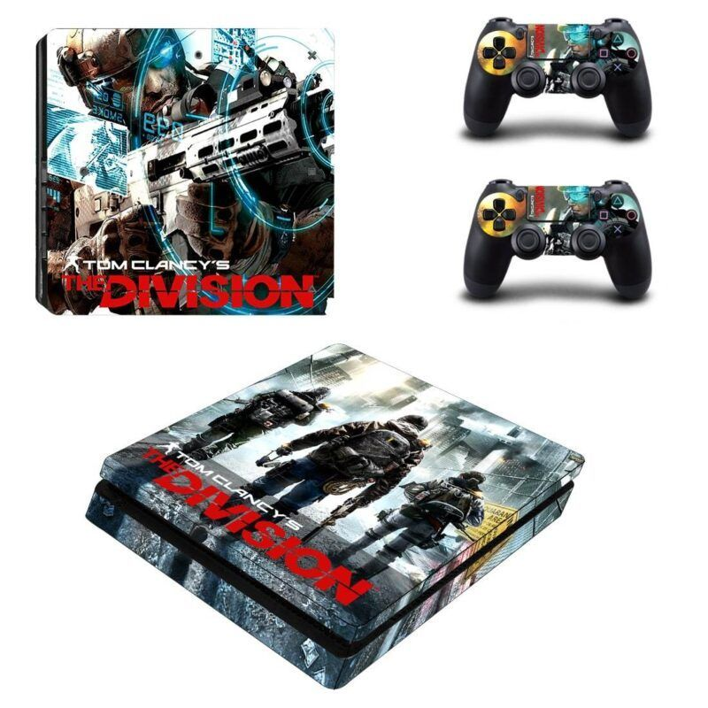 Tom Clancy's The Division Super Cool Vibrant PS4 Slim Skin