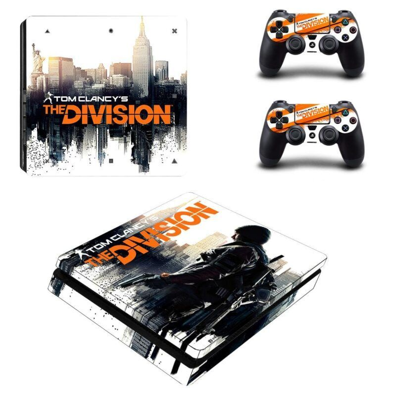 Tom Clancy's The Division Action Game Cool PS4 Slim Skin