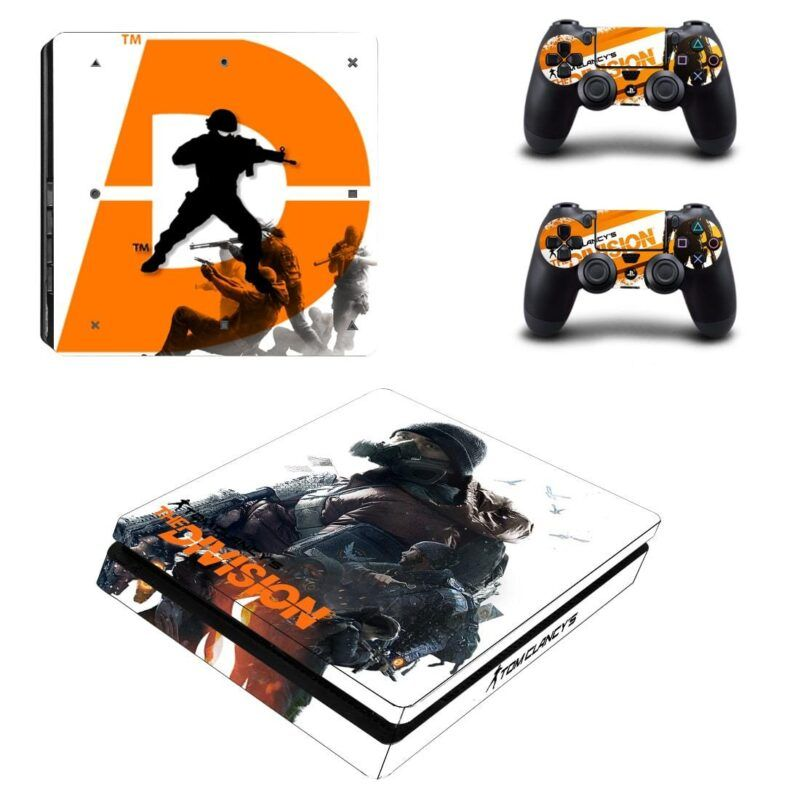 Tom Clancy's The Division Shooting Battle Dope PS4 Slim Skin