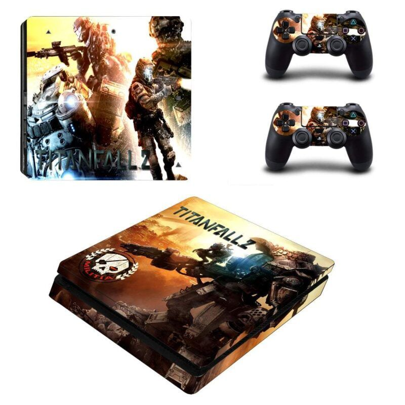 Titanfall 2 Shooter Game Wonderful Banner for PS4 Slim Skin