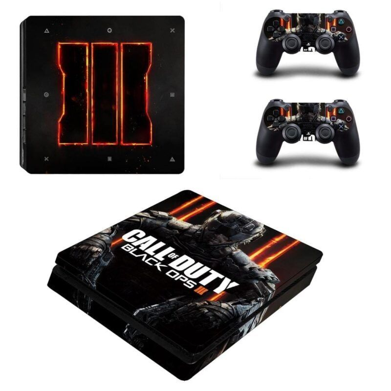 Call of Duty Black Ops Dope Poster Style for PS4 Slim Skin