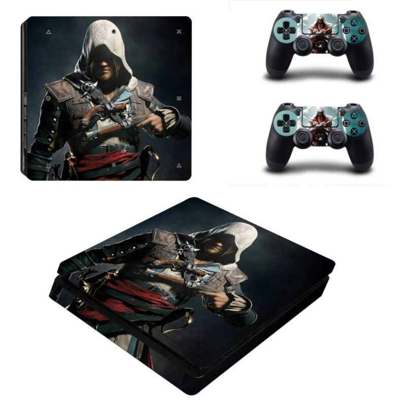 Assassin's Creed Edward Braddock Awesome Dope PS4 Slim Skin