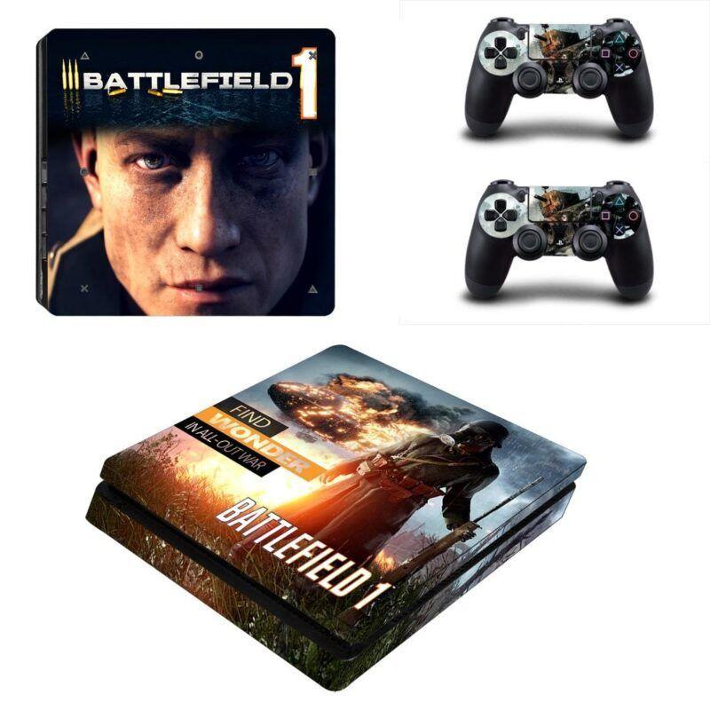 Battlefield 1 Awesome Stunning Design for PS4 Slim Skin