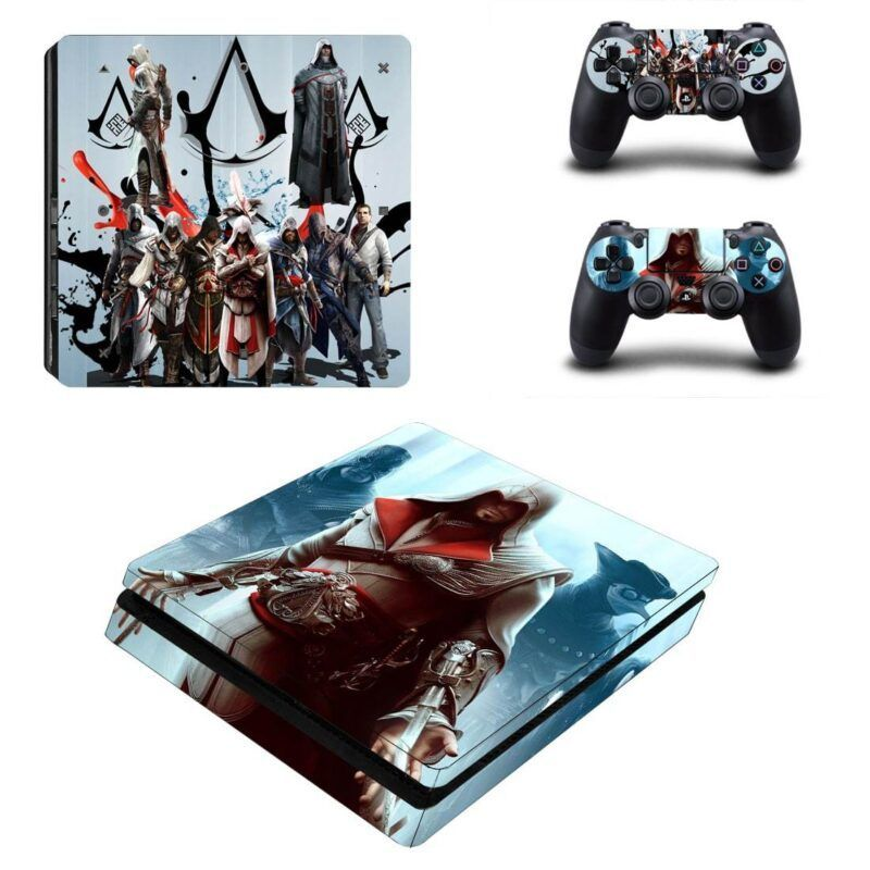 Assassin's Creed Assassin Team Up Dope Design Ps4 Slim Skin