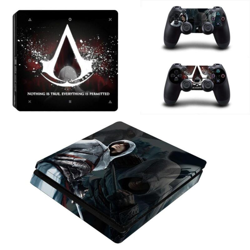 Assassin's Creed Ezio Auditore Powerful Dope PS4 Slim Skin