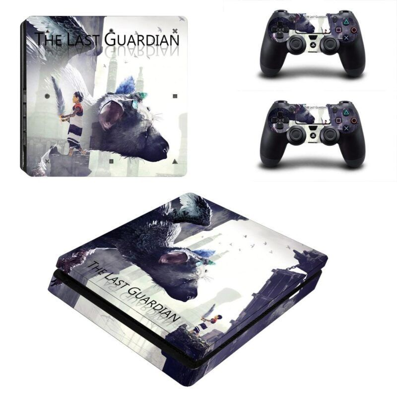 The Last Guardian The Boy and Trico Vibrant PS4 Slim Skin