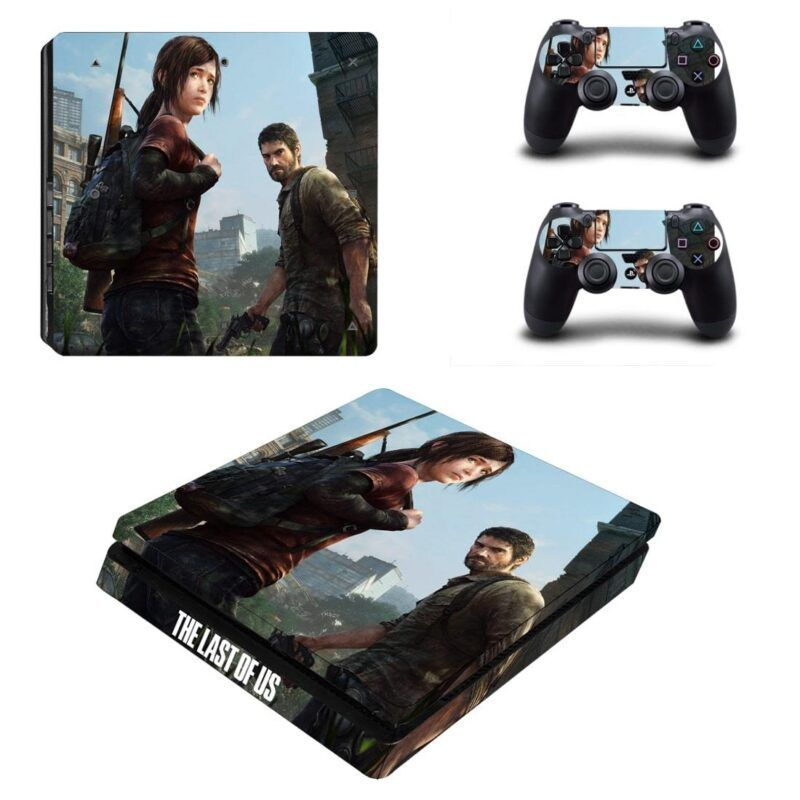 The Last of Us Joel and Ellie Impressive Style PS4 Slim Skin