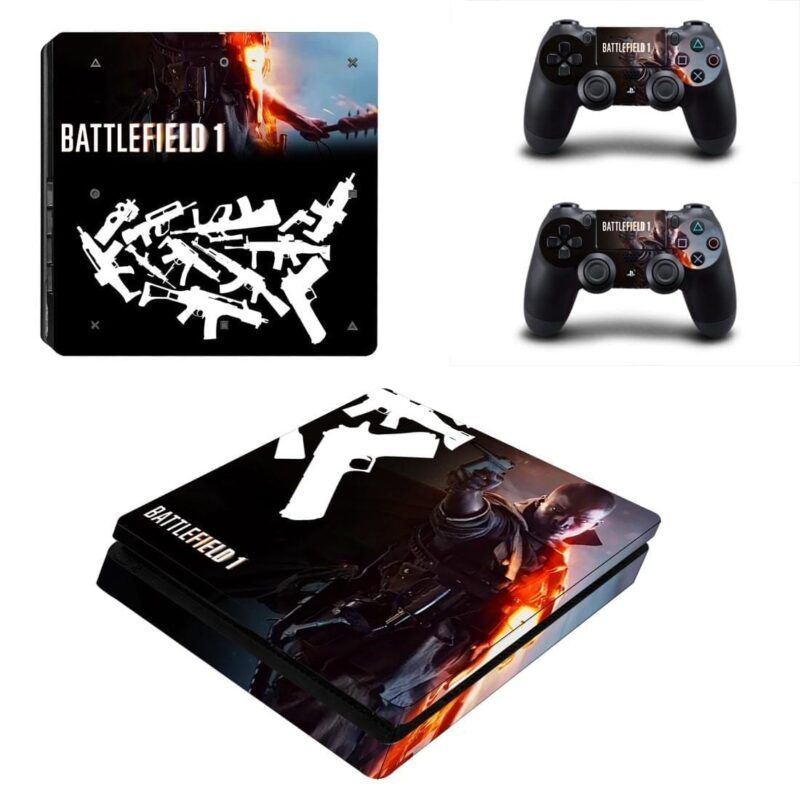 Battlefield 1 Awesome Video Game Dope Design PS4 Slim Skin