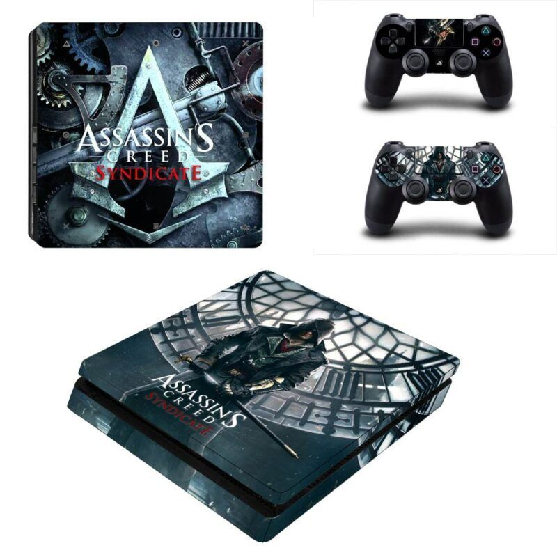 Assassin's Creed Syndicate Jacob Frye Gray PS4 Slim Skin