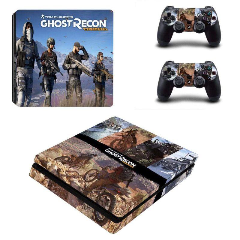 Tom Clancy Ghost Recon Wildlands Shooter Game PS4 Slim Skin
