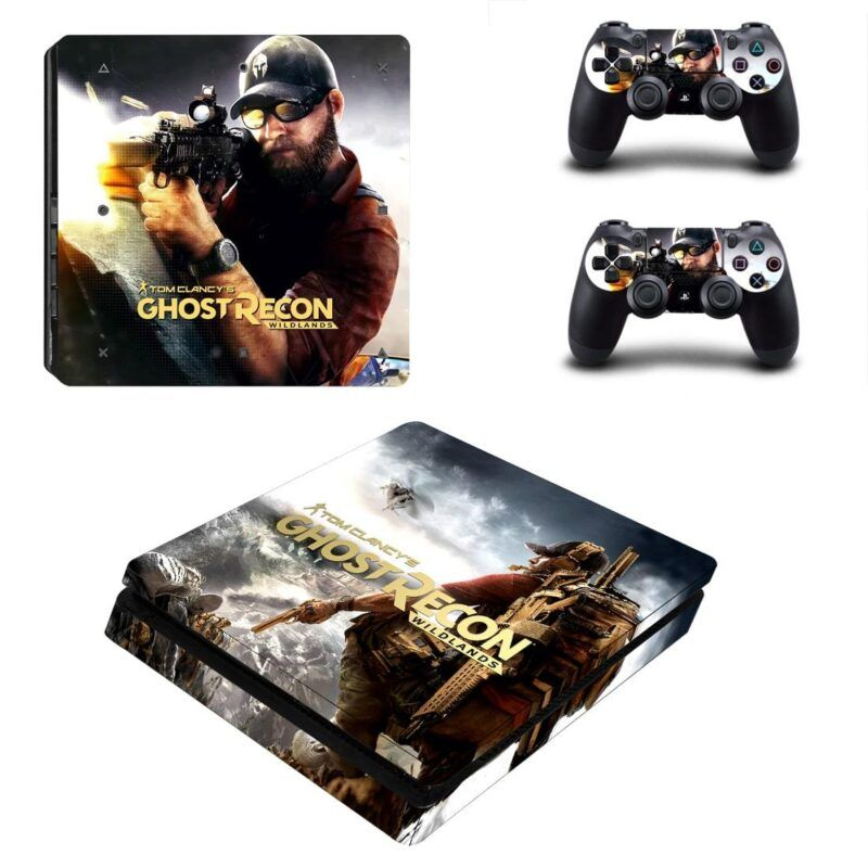 Tom Clancy Ghost Recon Wildlands Awesome Nomad PS4 Slim Skin