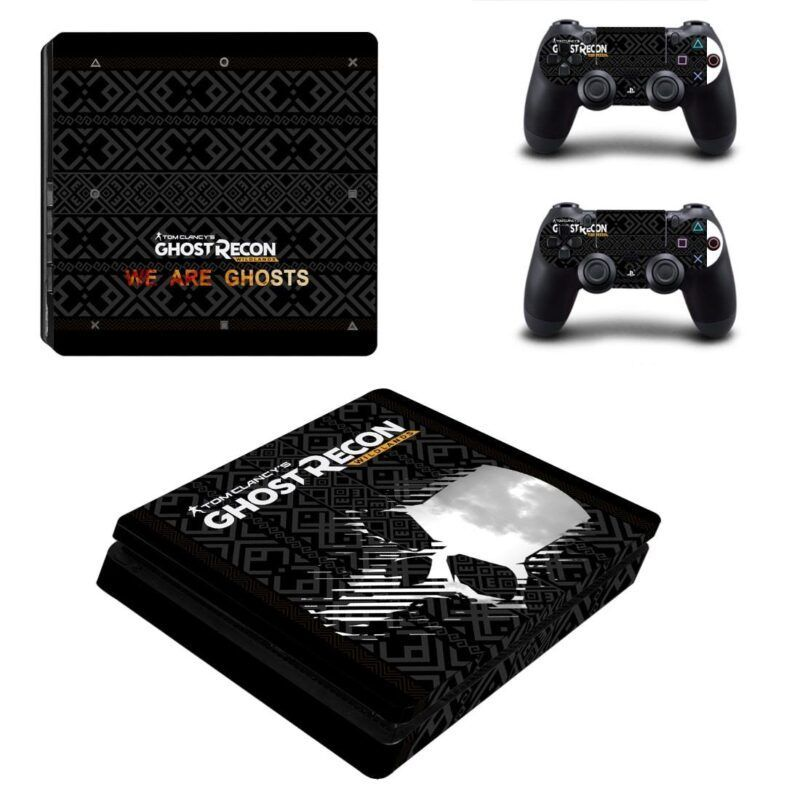 Tom Clancy Ghost Recon Wildlands We Are Ghosts PS4 Slim Skin