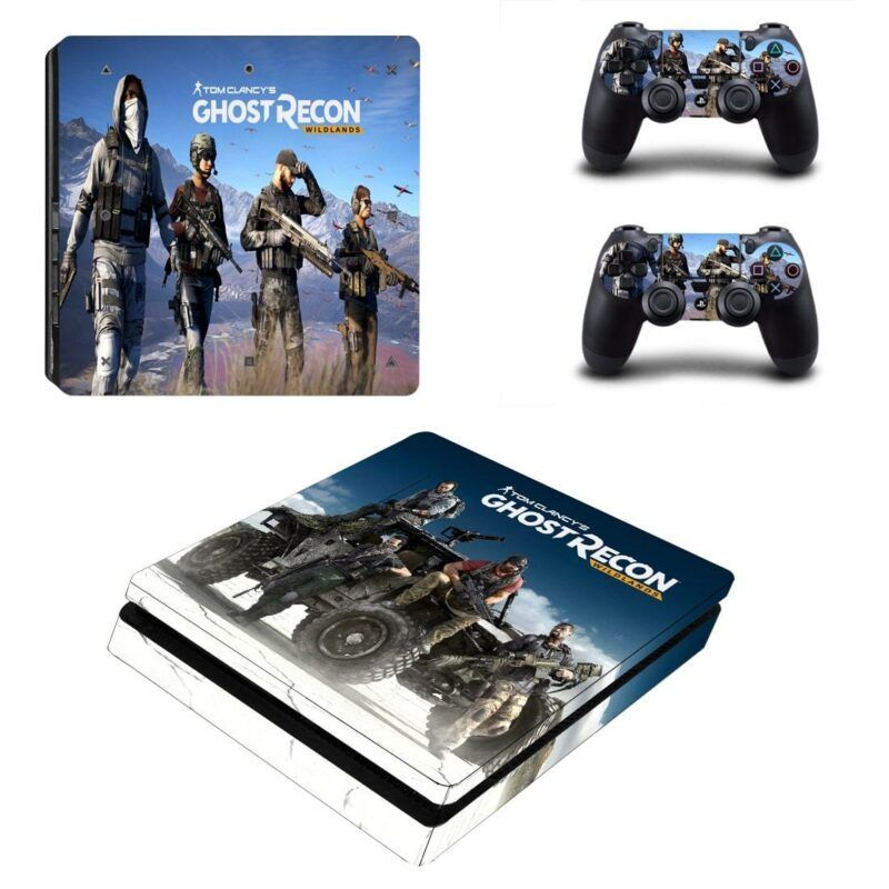 Tom Clancy Ghost Recon Wildlands Tough Squad PS4 Slim Skin