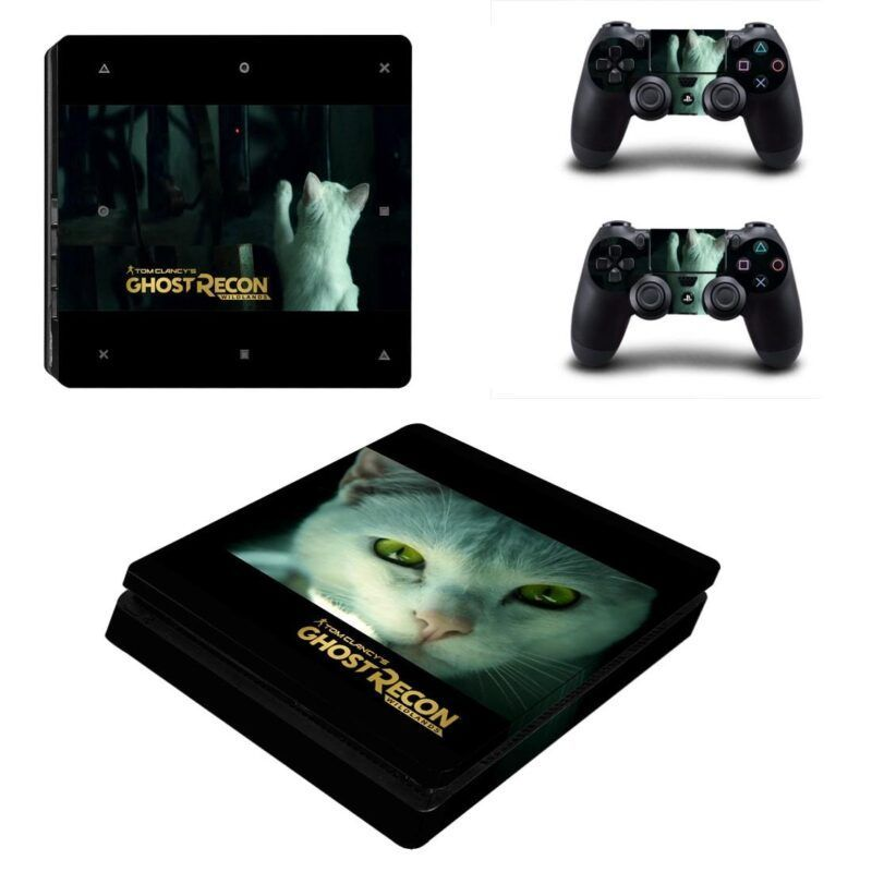 Tom Clancy Ghost Recon Wildlands The Cat Patch PS4 Slim Skin