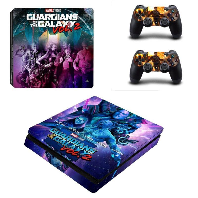 Guardian of the Galaxy Character Portrait PS4 Slim Skin