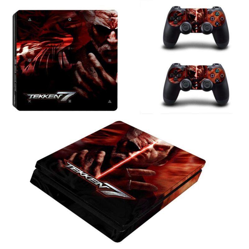 Tekken 7 Heihachi Kazuya Epic Final Battle PS4 Slim Skin