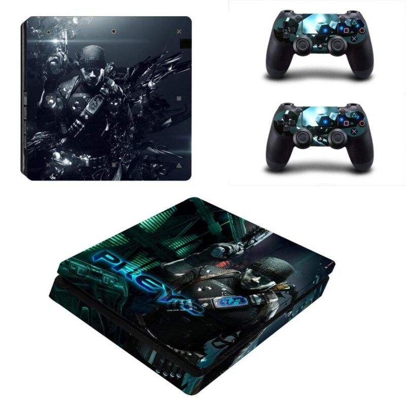 Prey 2 Killian Samuels Human Bounty Hunter PS4 Slim Skin