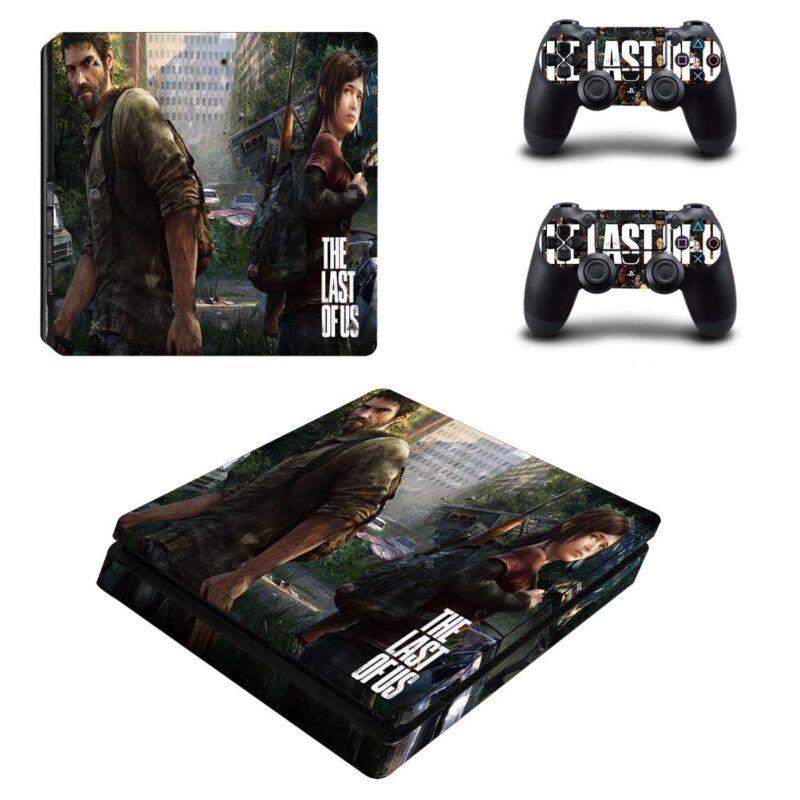 The Last Of Us Joel And Ellie's Hunting Rifle PS4 Slim Skin