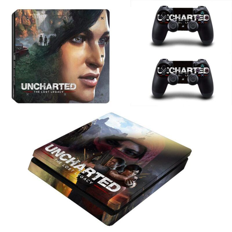Uncharted The Lost Legacy Chloe & Nadine Team Up PS4 Slim Skin