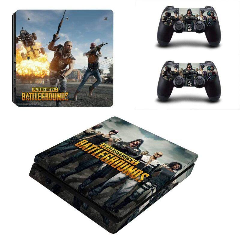 PlayerUnknowns Battlegrounds Badass Player PS4 Slim Skin