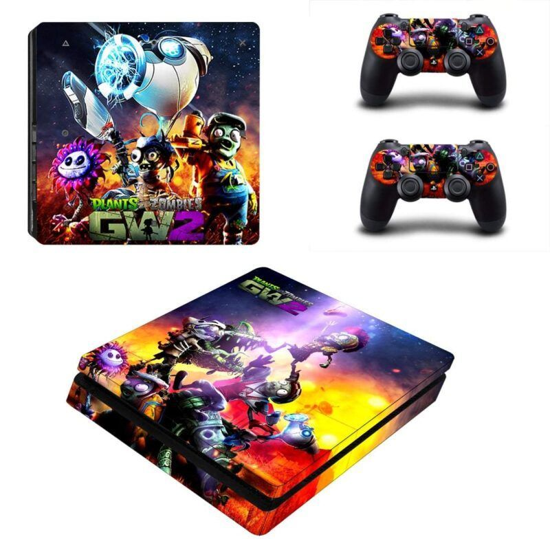 Plant Vs Zombies GW2 Zombie Characters Dope PS4 Slim Skin