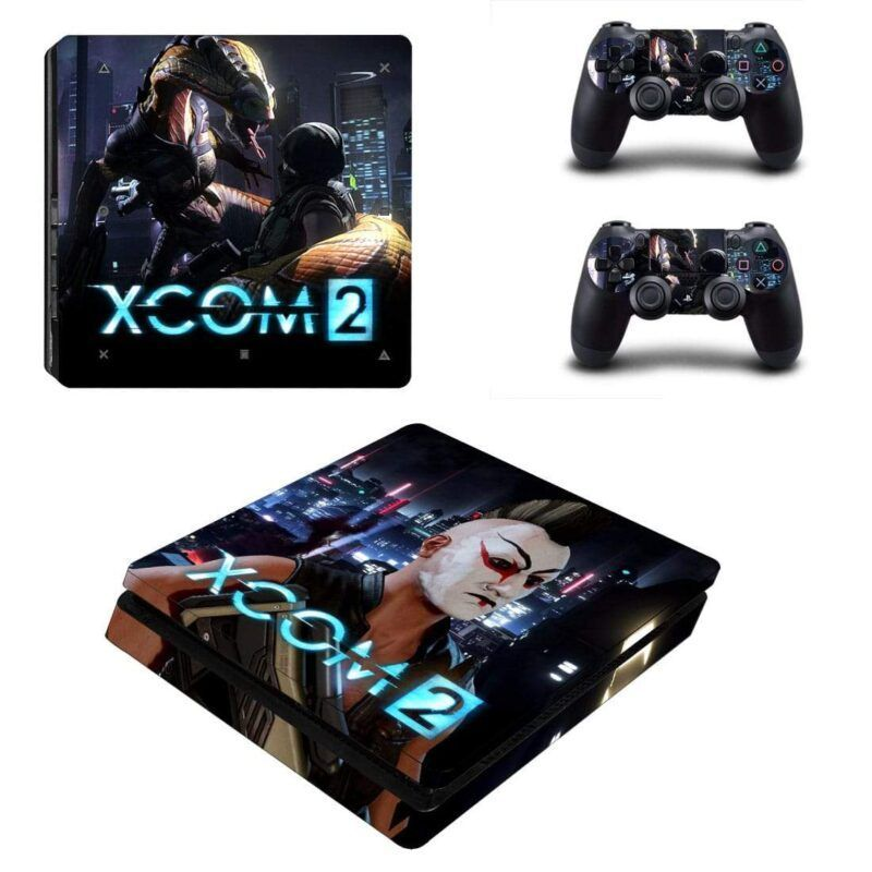 XCOM 2 Viper Snake Binding An Operative PS4 Slim Skin