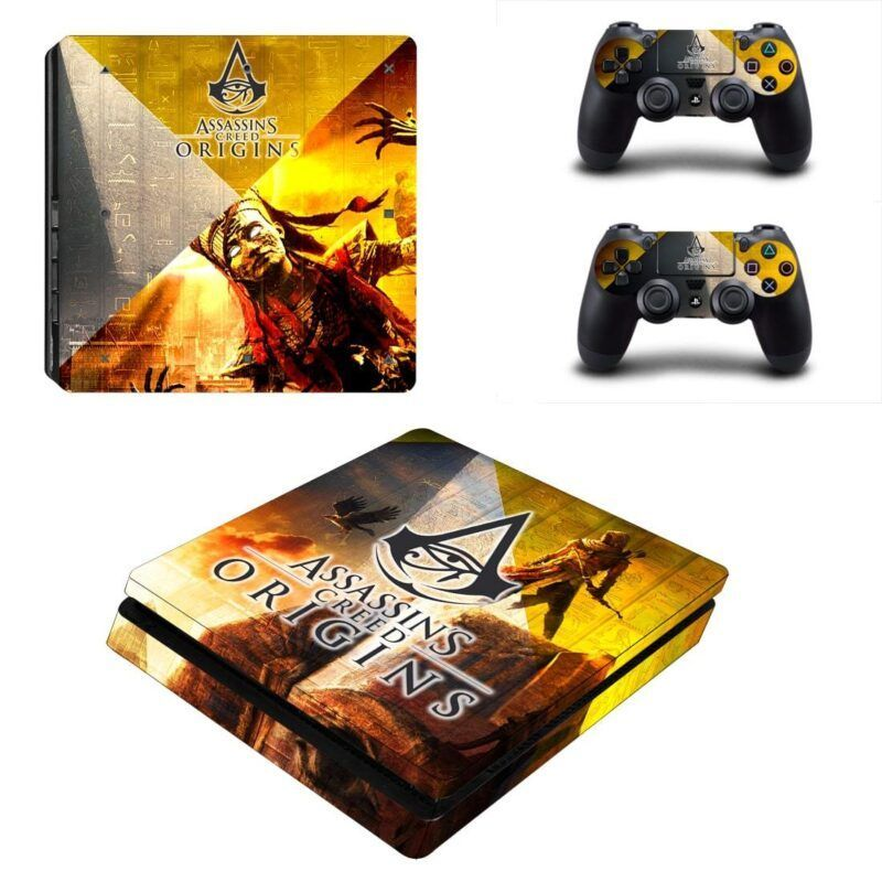Assassin's Creed Origins The Curse Of The Pharaoh PS4 Slim Skin