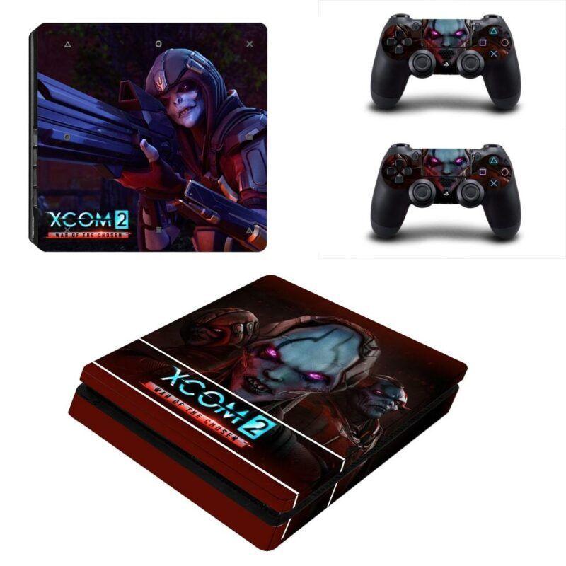 XCOM 2 War Of The Chosen Evolved Sectoid Alien PS4 Slim Skin