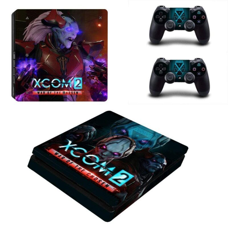 XCOM 2 War Of The Chosen Vigilo Confido Epic PS4 Slim Skin