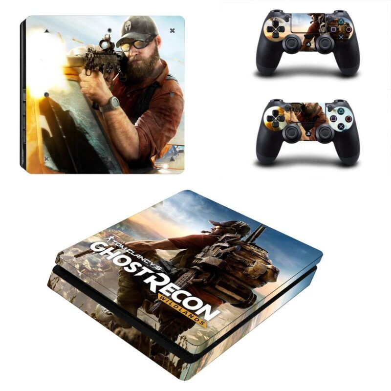 Tom Clancy Ghost Recon Awesome Nomad Sniper PS4 Slim Skin