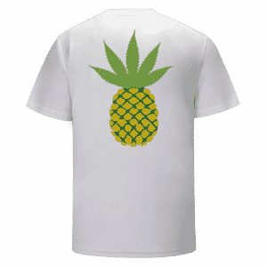 All Aboard Pineapple Express Strain Hybrid Marijuana T-shirt