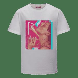 Bad Girl Rihanna Smoking Joint Trippy Marijuana T-Shirt