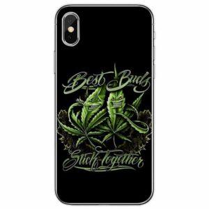 Best Buds Stick Together Marijuana IPhone 11 (Pro & Pro Max) Cases