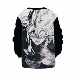 DBZ Goku Black Stylish Line Art Cool Kids Sweatshirt