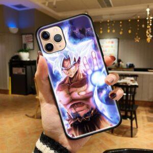 DBZ Goku God Super Saiyan Blue iPhone 12 (Mini, Pro & Pro Max) Cover