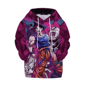 DBZ Goku Krillin Versus Frieza Kids Awesome Hoodies