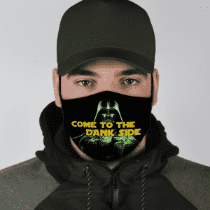 Darth Vader Come To The Dank Side Marijuana Funny Weed Cool Face Mask