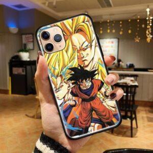 Dragon Ball Goku Forms iPhone 12 (Mini, Pro & Pro Max) Cover