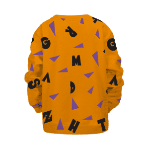 Dragon Ball Master Roshi Cosplay Pattern Kids Pullover Sweater