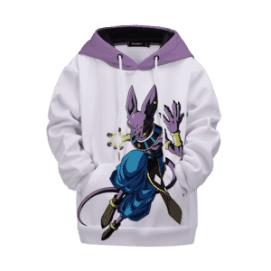 Dragon Ball Powerful God of Destruction Beerus Kids Hoodie