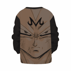 Dragon Ball Super Saiyan Majin Vegeta Black Kids Pullover Sweater