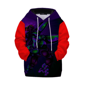 Dragon Ball Supreme Cell Charge Attack Kids Pullover Hoodie