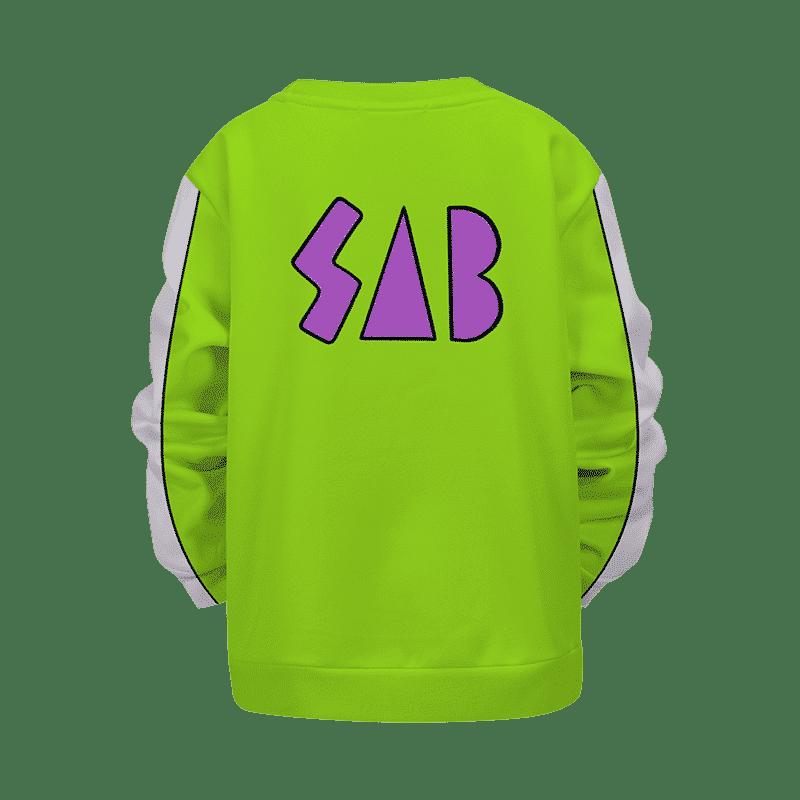 Dragon Ball Vegeta SAB Jacket Broly Movie Kids Pullover Sweater