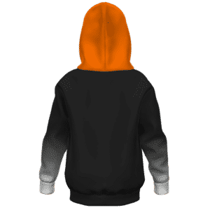 Dragon Ball Z Android 17 Classic Costume Kids Hoodie Back
