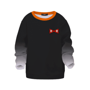 Dragon Ball Z Android 17 Red Ribbon Army Cosplay Kids Sweater